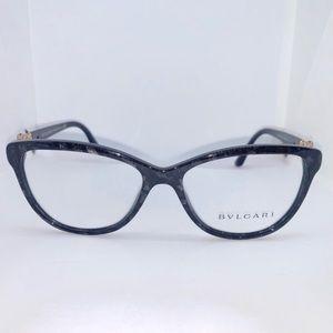 Bvlgari 4132B Black Cat Eye Eyeglasses